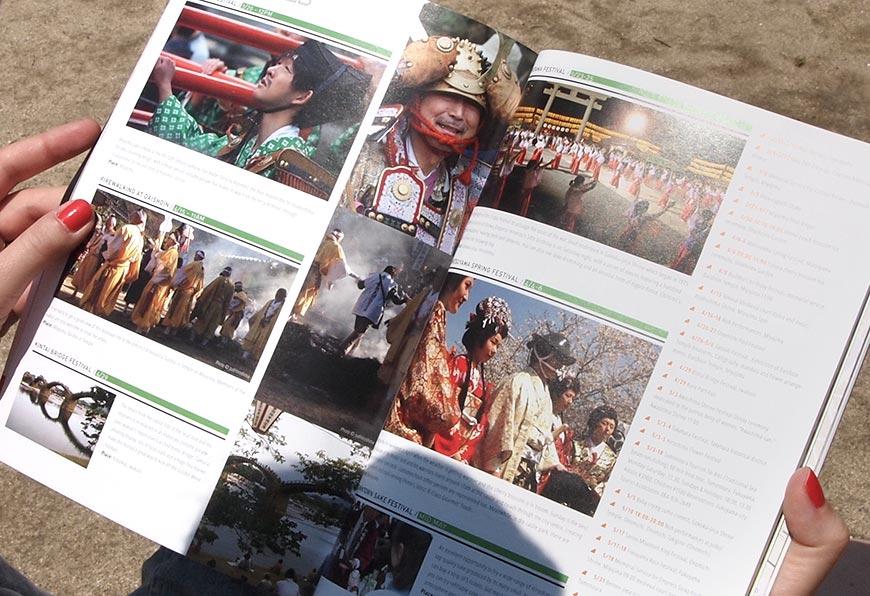 GetHiroshima mag #1 festivals page