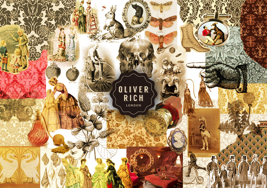 Moodboard for Oliver Rich London