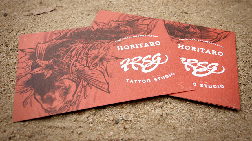 Horitaro Tattoo Studio shop card