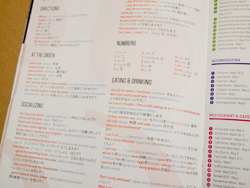 GetHiroshima mag #04 Winter Language section
